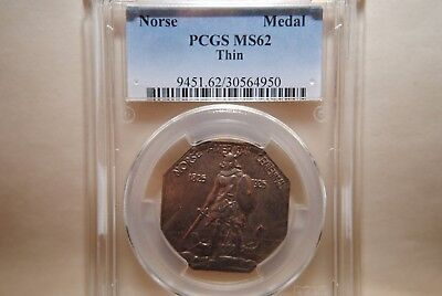 "1925 Norse American Centennial - ""Thin"" - PCGS MS62"