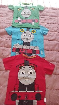 Baby Boys set of 3 Thomas and Friends TShirts. immaculate 18-24 months M&S