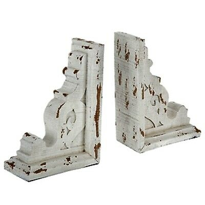 Farmhouse Distressed Wood Corbels Or Bookend Set Of 2