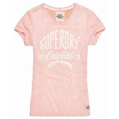 T-shirt Superdry MFG Entry femme coral blossom snowy