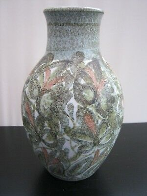 "Bourne  ~  Denby  ~  Large Stoneware Vase  ~  Glyn Colledge  ~  11.5""  High"