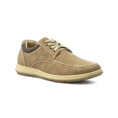 Hobos Mens Taupe Lace Up Casual Shoe - Sizes 6,7,8,9,10,11,12