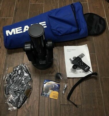 Meade ETX-80AT-TC f/4.4 Achromatic Refractor Telescope - No reserve - Read First