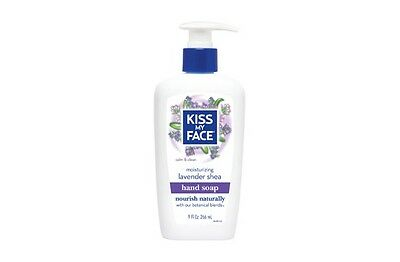 Kiss My Face All Natural Moisturizing Hand Soap Lavender Shea 9oz