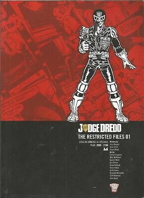 Judge Dredd The Restricted Files 01 2000Ad Books