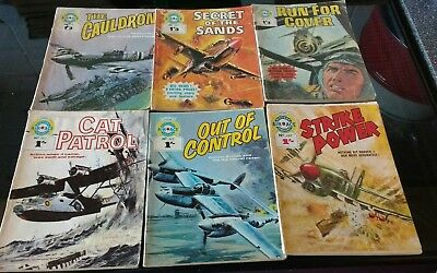 Air Ace Picture Library Comics 1969/70 : 461 462 463 493 494 510