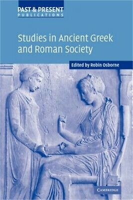 Studies in Ancient Greek and Roman Society (Paperback or Softback)