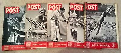 5 x Picture Post Magazines April 1939