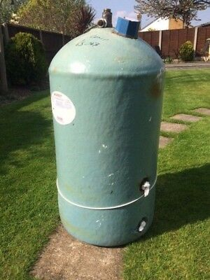 COPPER HOT WATER CYLINDER TANK 900 x 450 + IMMERSION HEATER - £35.00 ...