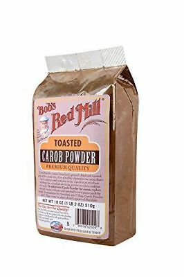 Bob's Red Mill Carob Powder Toasted - 18 oz New FREE SHIP NEW