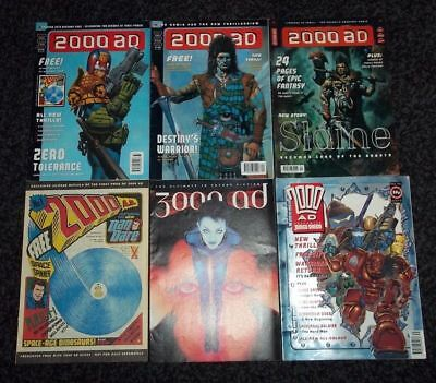 2000Ad Collection/lot 160 Progs In Total