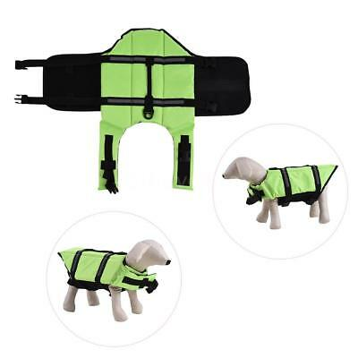 Pets Dog Life Jacket Buoyant Secure Float Vest Outdoor Water Swimming E1Z6