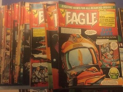 Collection Of Eagle Magazines Number 3-172 Job Lot