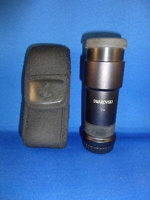 Swarovski Optik Eyepiece Binocular Booster 2x Doubler for EL and SLC Binoculars