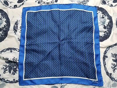SULKA Silk Pocket Square Vintage NEW Hand rolled, ITALY Made VERY Rare RRP £100+