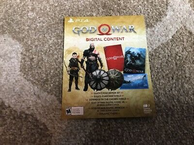God of War 4 Stone Mason Edition digital content only Instant message