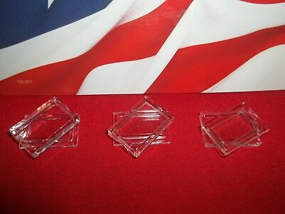 3x Clear Plastic Airtight Capsule Case to Fit 1 Gram Gold/Silver Bullion Bars