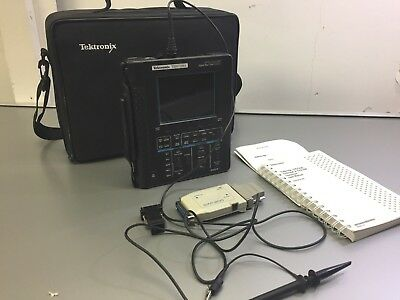Tektronix THS720A 100 MHz 2 Channel Oscilloscope with Extras