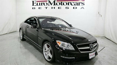 Mercedes-Benz CL-Class 2dr Coupe CL 63 AMG RWD mercedes benz cl 2dr coupe 63 cl63 amg 11 12 13 used black navigation