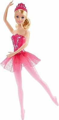 Barbie Fairytale Ballerina Doll Pink