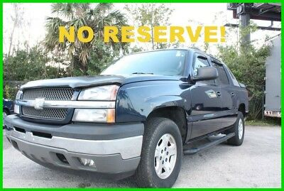 Chevrolet Avalanche LS 4x2 ONE OWNER FLORIDA NO RESERVE! 2005 CHEVROLET AVALANCHE LS 4X2 ONE OWNER FLORIDA NO RESERVE!