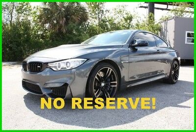 Bmw M4 Coupe Only 21K Miles Immaculate Florida Carfax No 2016 Bmw M4 Coupe Only 21K Miles Immaculate Florida Carfax No Reserve!