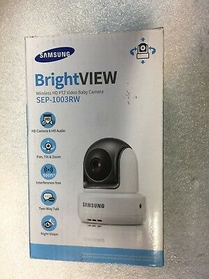 NEW Samsung BrightView SEP-1003RW Wireless HD Video Baby Camera for SEW-3043W
