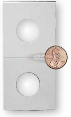 Bundle of 100 BCW 2 x 2 Cardboard Coin Flips PENNY SIZE 2x2 paper holders
