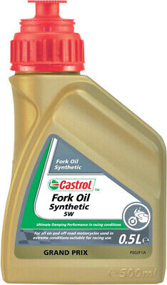 Fork oil synthetic sae 5w 500 ml - Castrol