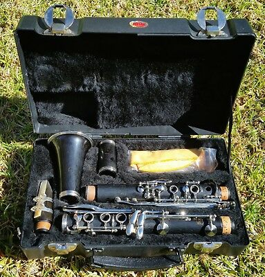 Noblet Grenadilla Wood Clarinet - Used, 3 Month Warranty - Excellent Cond.