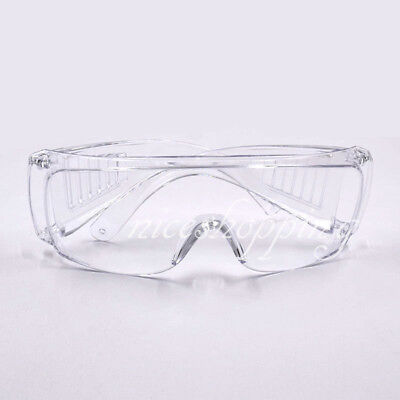 132eec85c621 1xDental Lab Work Spectacles Safety Glasses Goggles Eye Protective Eyewear  Clear