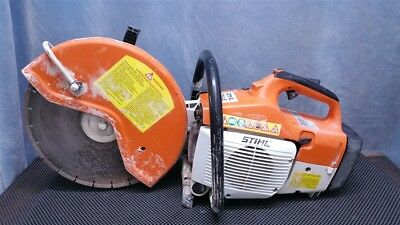 "Stihl Ts400 Professional Gas Cut-Off Saw Cutoff 14"" Concrete No Reserve Auction"