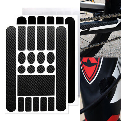 MTB Bike Scratch Protection Bike Chain Posted Bicycle Frame Protective Sticker