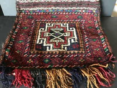 Old Turkish Donkey Bag / Cushion Cover …beautiful accent / collection piece