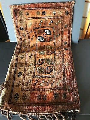 Old Turkish Camel Bag Cushion Cover …beautiful accent / display piece