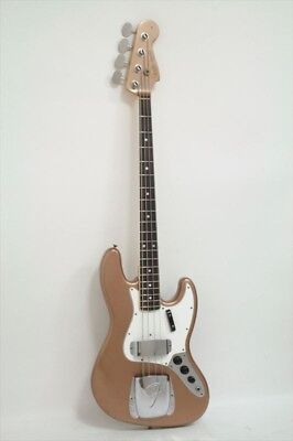 Fender CS: 1966 Journeyman Relic Jazz Bass/Firemist Gold NEW