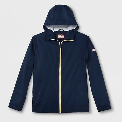 Hunter for Target Adult Unisex Packable Waterproof Rain Jacket - Navy, Small