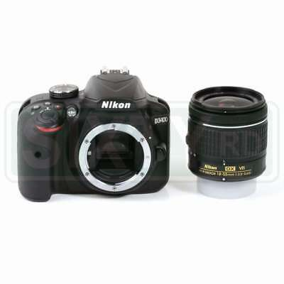 NEW Nikon D3400 Digital SLR Camera + AF-P 18-55mm f/3.5-5.6G VR Lens