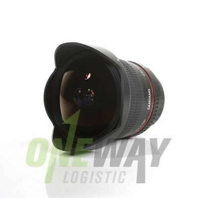 NEW Samyang 12mm f/2.8 ED AS IF NCS UMC Fisheye Lens for Canon EF Mount