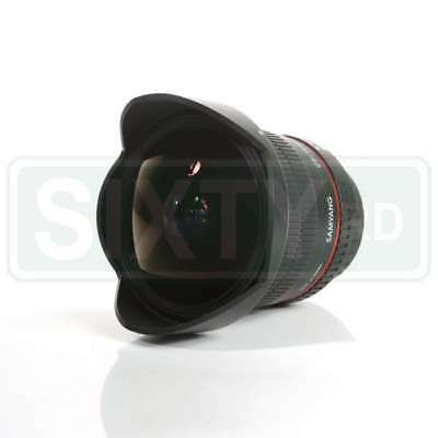 NUEVO Samyang 12mm f/2.8 ED AS IF NCS UMC Fisheye Lens AE for Nikon F Mount