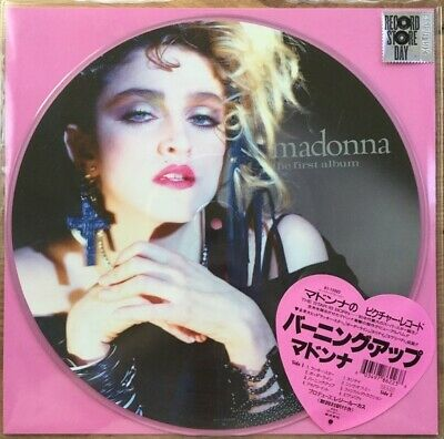 Madonna The First Album RSD 2018 vinyl LP picture disc NEW