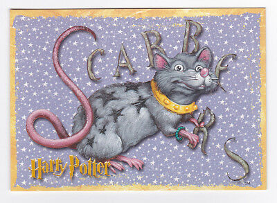HARRY POTTER  carte postale n° PC0417 EDITEE EN 2001 SCABBERS CROUTARD