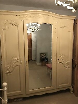 Wardrobe - French Three Door Armoire