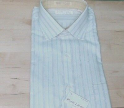 vintage mens  DRESS shirt 16  PIERRE CARDIN New With Tags