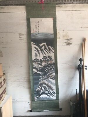 Chinese / Japanese Picture, Oriental, 1.6 Metres Tall, Winter Season, Scroll