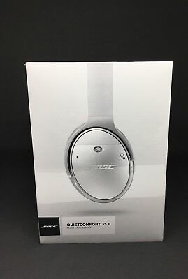 Bose QuietComfort 35 ll QC35 ll Noise Cancelling - Wireless Silver Brand New