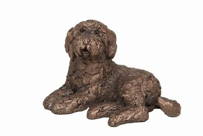 Koko Labradoodle Dog - Frith Sculptures by Adrian Tinsley Cold Cast Bronze AT039