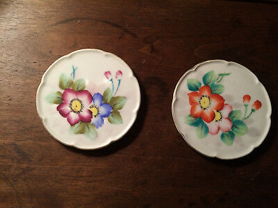 Vintage Butter Pats - set of 2 - Made in Japan