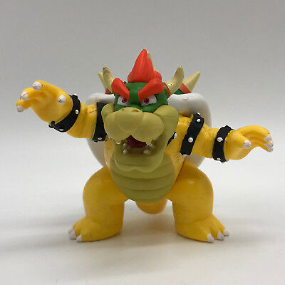 """New Super Mario Bros. Collectible Toy Bowser Koopa Doll Plastic PVC Figure 4"""""""