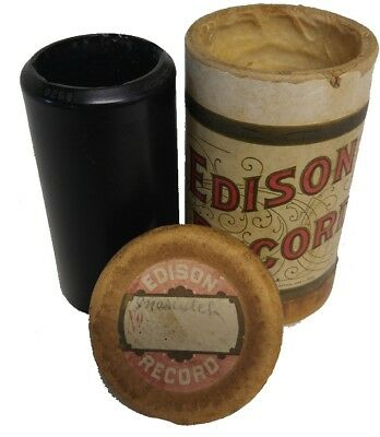1906 Edison Record #9268 (Coon love song Jessamine)